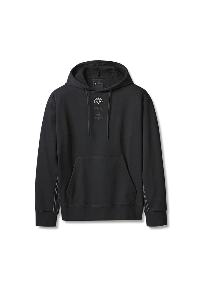 ... ALEXANDER WANG ADIDAS ORIGINALS BY AW LOGO HOODIE SWEAT-SHIRT Adult  12 n e ... 71d624bf66