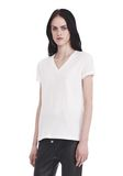 T by ALEXANDER WANG SUPERFINE JERSEY V-NECK TEE 上衣 Adult 8_n_a