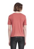 T by ALEXANDER WANG CLASSIC CROPPED TEE WITH POCKET 上衣 Adult 8_n_d