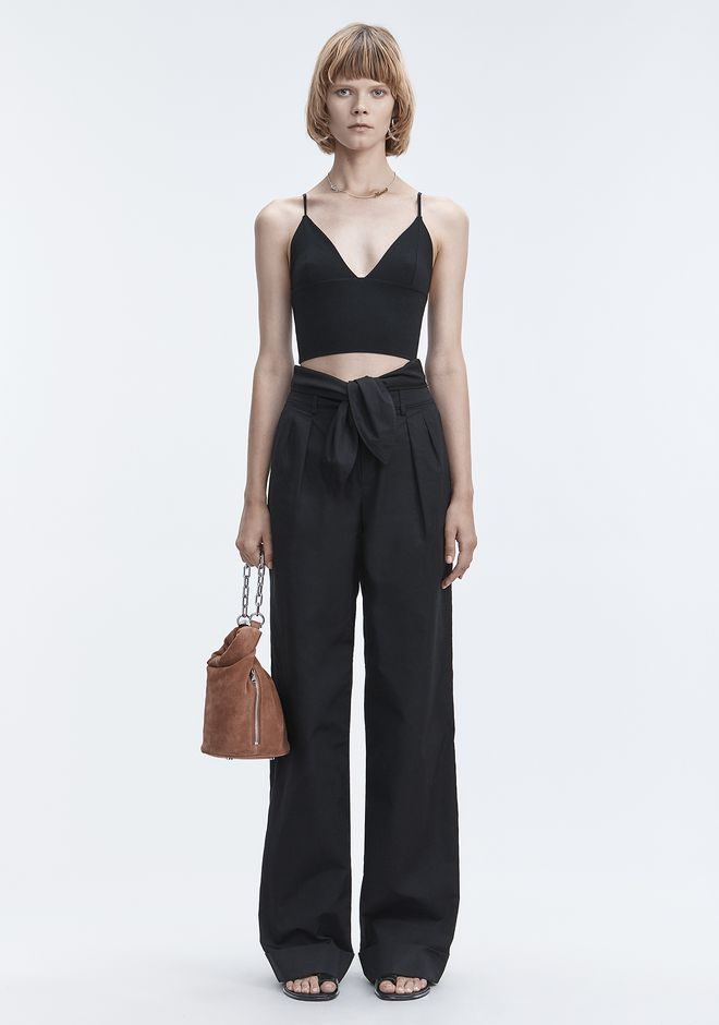 T by ALEXANDER WANG EXCLUSIVE TRIANGLE BRALETTE TOP TOP Adult 12_n_f