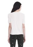 T by ALEXANDER WANG CLASSIC CROPPED TEE WITH POCKET TOP Adult 8_n_d