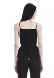 T by ALEXANDER WANG COTTON POPLIN CAMISOLE WITH FRONT KEYHOLE 上衣 Adult 8_n_d