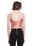T by ALEXANDER WANG SILK CHARMEUSE CAMI BODYSUIT TOP Adult 8_n_a