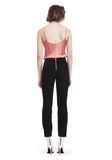 T by ALEXANDER WANG SILK CHARMEUSE CAMI BODYSUIT TOP Adult 8_n_r