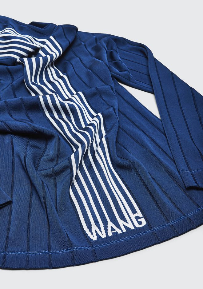 ALEXANDER WANG EXCLUSIVE HOODIE PULLOVER WITH BARCODE LOGO  HAUTS Adult 12_n_a