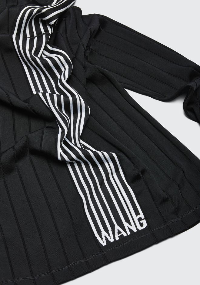 ALEXANDER WANG EXCLUSIVE HOODIE PULLOVER WITH BARCODE LOGO  トップス Adult 12_n_a