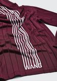 ALEXANDER WANG EXCLUSIVE HOODIE PULLOVER WITH BARCODE LOGO  TOP Adult 8_n_a