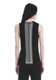 ALEXANDER WANG EXCLUSIVE TANK TOP WITH BARCODE LOGO  TOP Adult 8_n_a