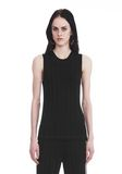 ALEXANDER WANG EXCLUSIVE TANK TOP WITH BARCODE LOGO  TOP Adult 8_n_d