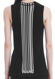 ALEXANDER WANG EXCLUSIVE TANK TOP WITH BARCODE LOGO  TOP Adult 8_n_r