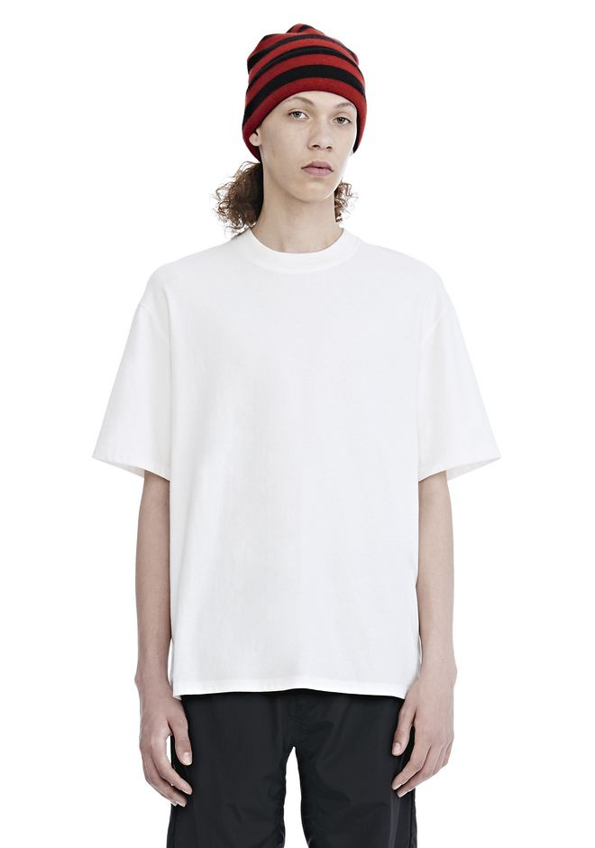 ALEXANDER WANG mens-classics HIGH TWIST JERSEY SHORT SLEEVE TEE