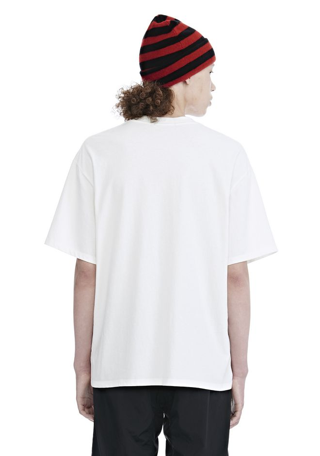 ALEXANDER WANG HIGH TWIST JERSEY SHORT SLEEVE TEE 上衣 Adult 12_n_d