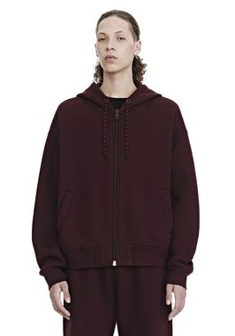 DENSE FLEECE ZIP UP HOODIE