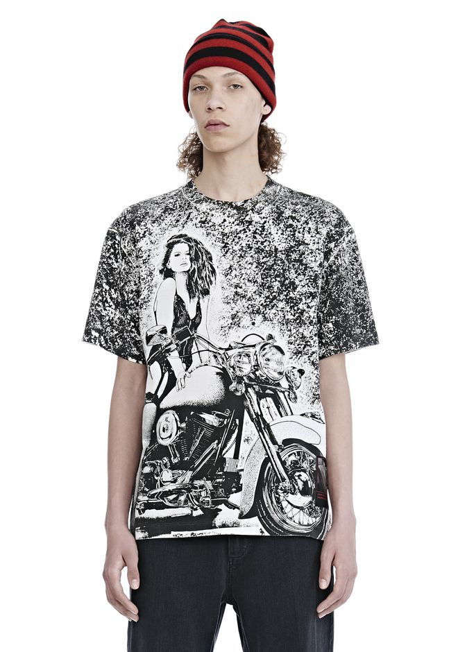 ALEXANDER WANG TOPS SLOW AND STEADY SHORT SLEEVE TEE