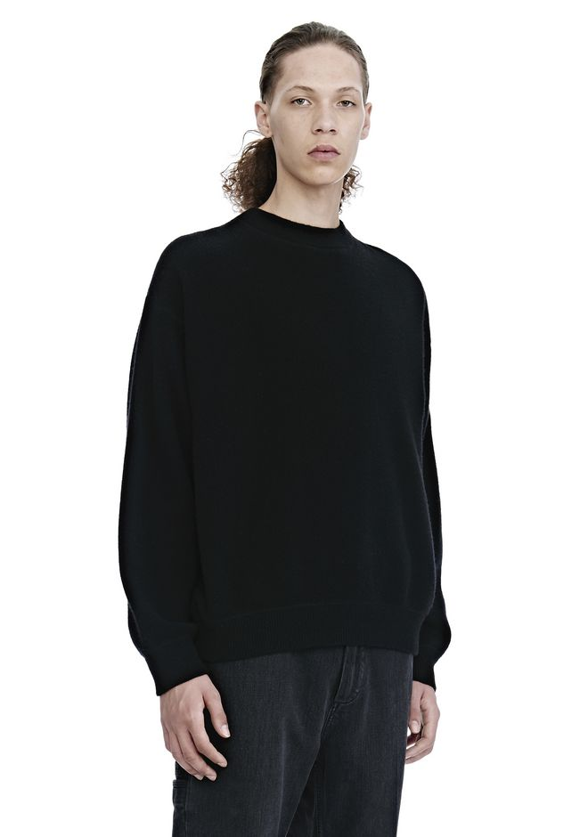 ALEXANDER WANG CREW NECK LONG SLEEVE PULLOVER TOP Adult 12_n_a