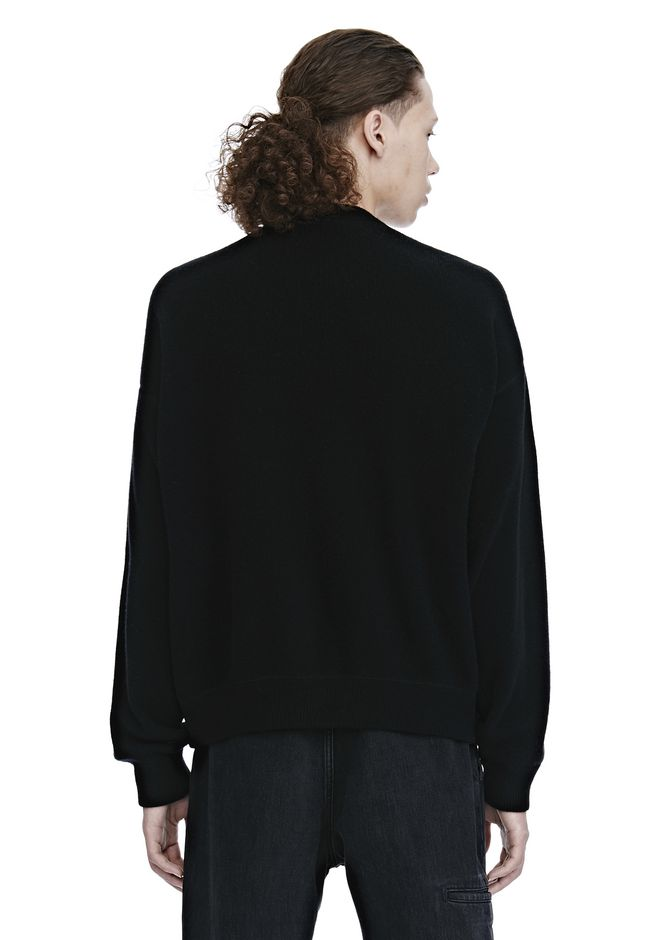 ALEXANDER WANG CREW NECK LONG SLEEVE PULLOVER TOP Adult 12_n_d