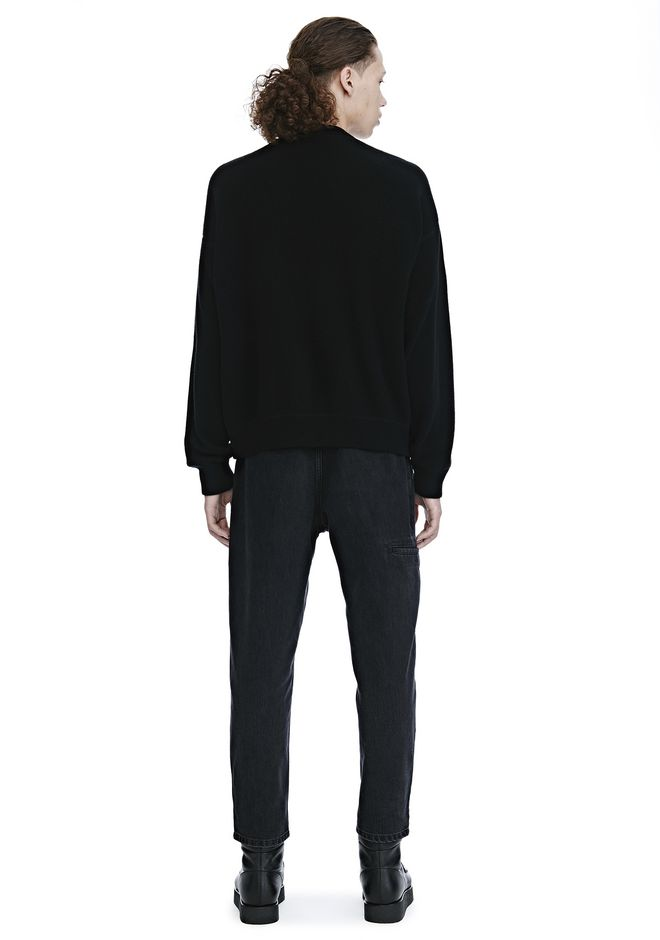 ALEXANDER WANG CREW NECK LONG SLEEVE PULLOVER TOP Adult 12_n_r