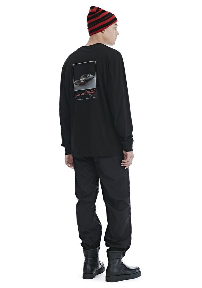 ALEXANDER WANG SLOW AND STEADY PATCH LONG SLEEVE TEE 上衣 Adult 12_n_f