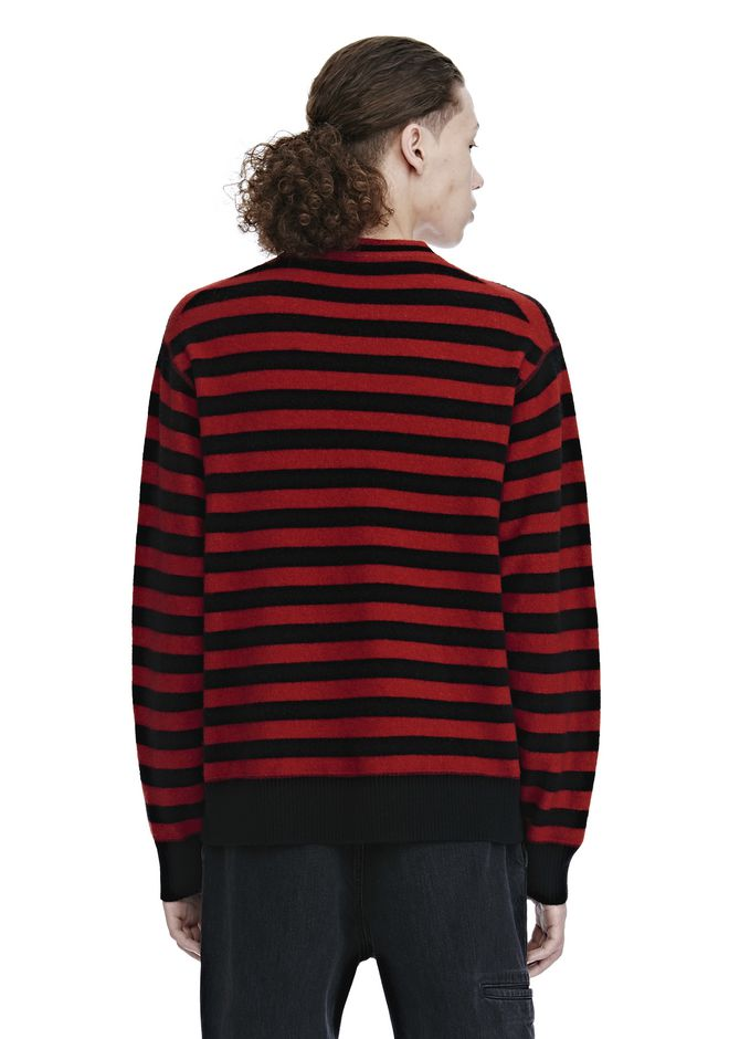 ALEXANDER WANG LONG SLEEVE STRIPED PULLOVER トップス Adult 12_n_d