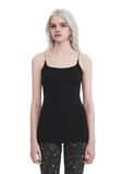 T by ALEXANDER WANG CAMISOLE WITH CHAIN STRAPS TOP Adult 8_n_a
