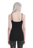 T by ALEXANDER WANG CAMISOLE WITH CHAIN STRAPS TOP Adult 8_n_d