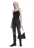 T by ALEXANDER WANG CAMISOLE WITH CHAIN STRAPS TOP Adult 8_n_f