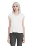 T by ALEXANDER WANG HIGH TWIST JERSEY MUSCLE TEE  TOP Adult 8_n_e