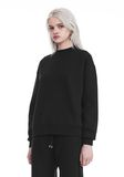 T by ALEXANDER WANG DENSE FLEECE PULLOVER TOP Adult 8_n_a