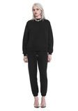 T by ALEXANDER WANG DENSE FLEECE PULLOVER TOP Adult 8_n_f