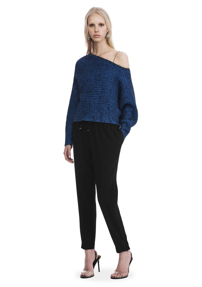 Cheap Sale Factory Outlet T By Alexander Wang asymmetric sleeve top Latest Collections Sale Online Clearance Shop uad552LW0E