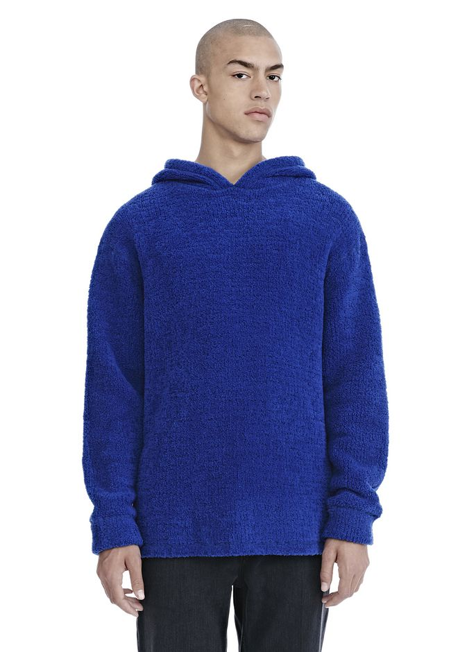 ALEXANDER WANG mens-new-apparel FLEECE PULLOVER HOODIE