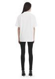 ALEXANDER WANG EXCLUSIVE SHORT SLEEVE TEE WITH GEL DOT ARTWORK TOP Adult 8_n_r