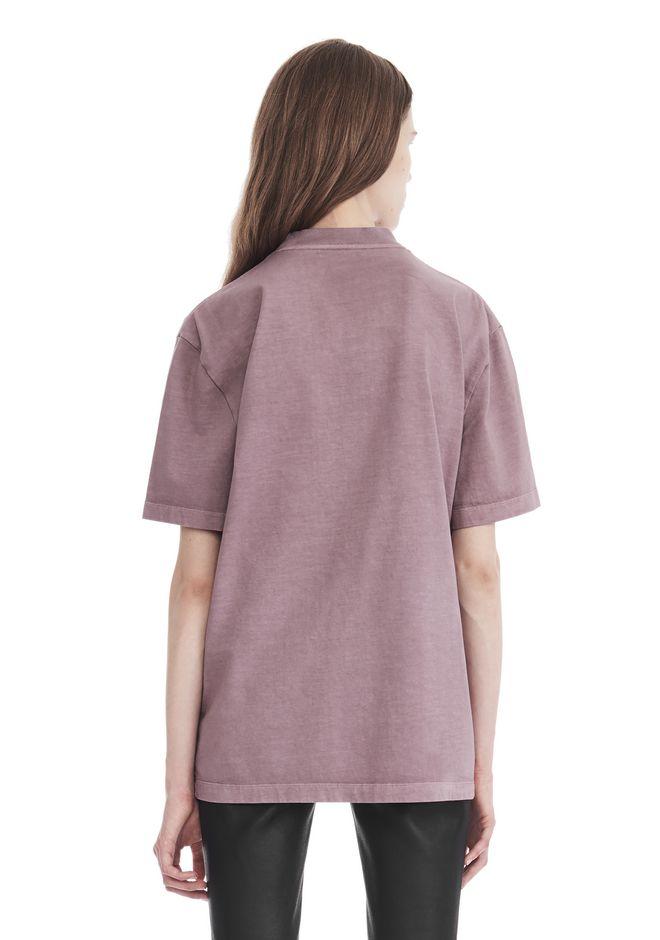 short-sleeved shirt - Pink & Purple Alexander Wang For Sale Discount Sale ziQrC7czJS