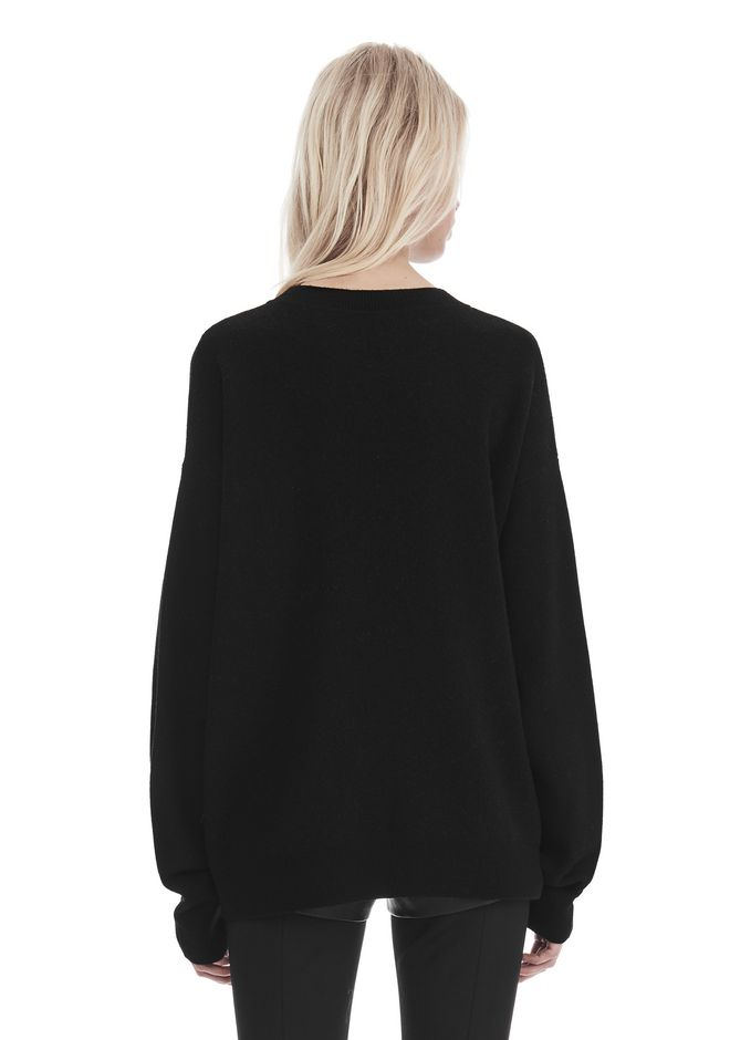 ALEXANDER WANG EXCLUSIVE 'PARTY ANIMAL' JACQUARD PULLOVER  上衣 Adult 12_n_d