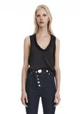 ALEXANDER WANG PANELED TWIST TANK TOP  TOP Adult 8_n_e