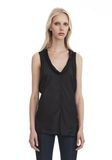 ALEXANDER WANG PANELED TWIST TANK TOP  TOP Adult 8_n_r