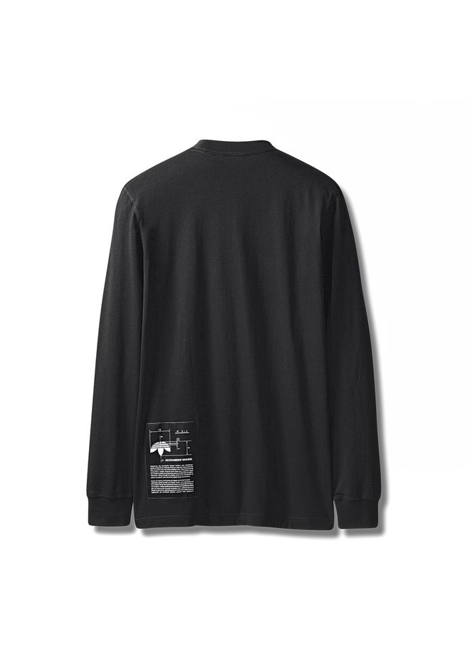 ALEXANDER WANG ADIDAS ORIGINALS BY AW GRAPHIC LONG SLEEVE Long sleeve t-shirt Adult 12_n_d