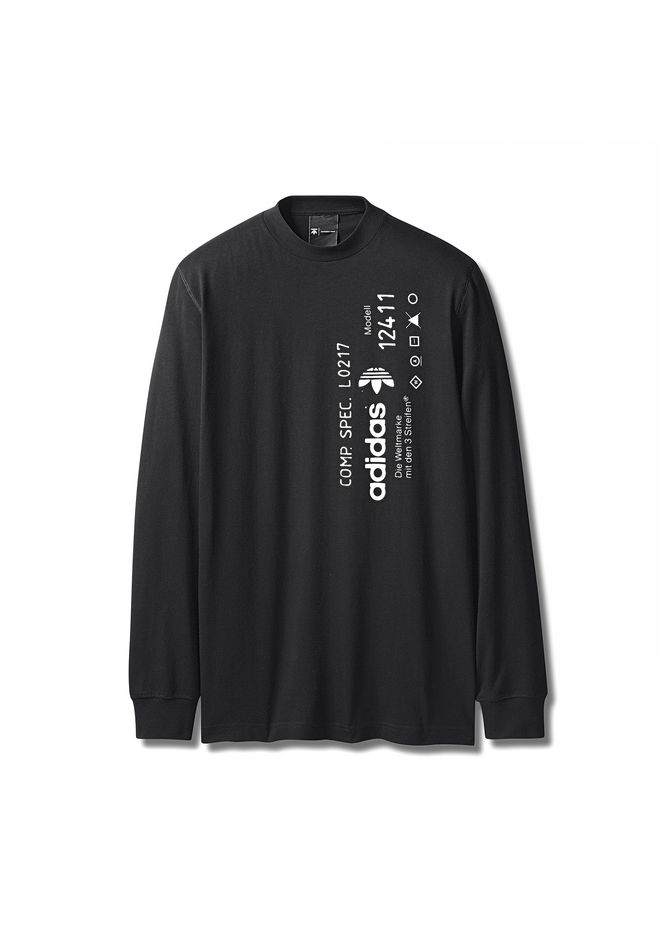 ALEXANDER WANG ADIDAS ORIGINALS BY AW GRAPHIC LONG SLEEVE Long sleeve t-shirt Adult 12_n_f