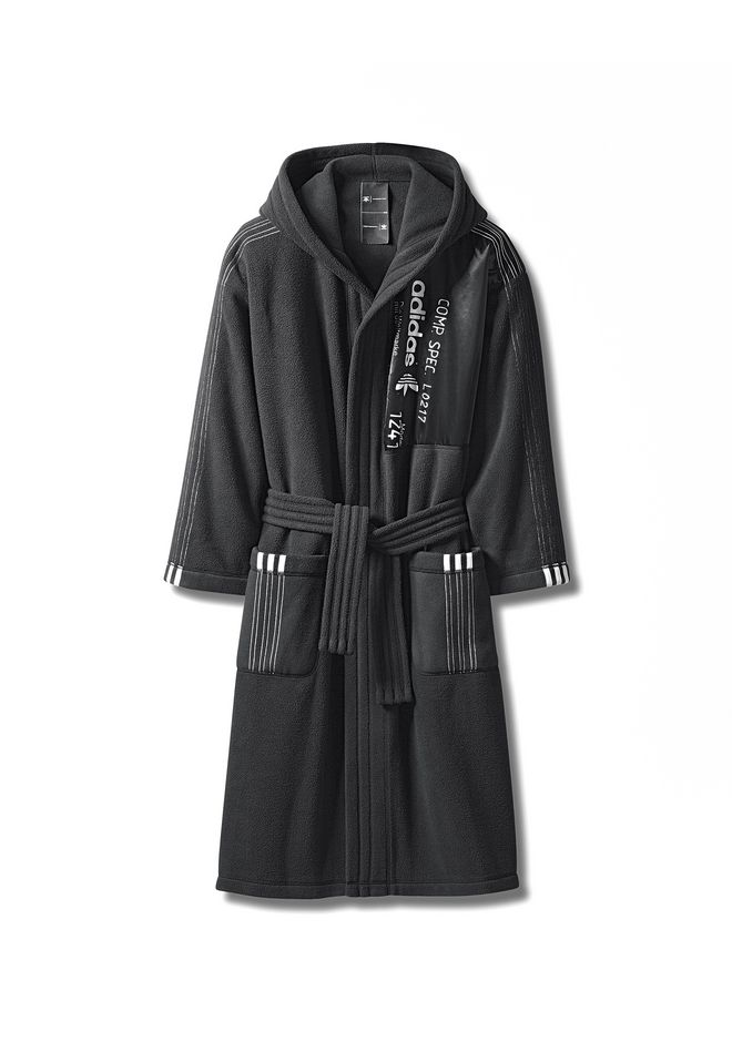 ALEXANDER WANG adidasoriginals-aw-4 ADIDAS ORIGINALS BY AW FLEECE ROBE