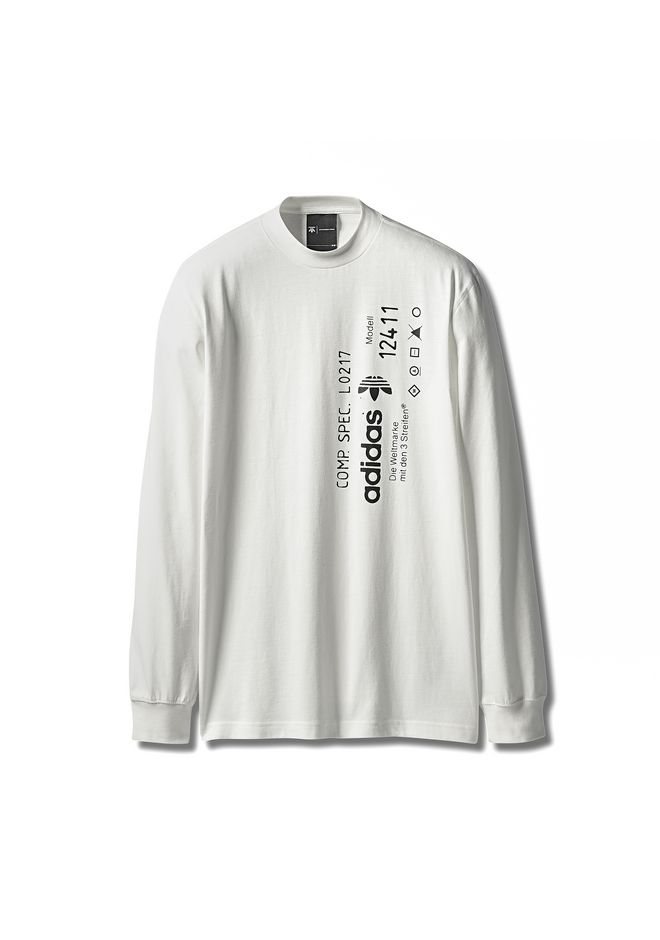 Adidas Originals By Aw Graphic Long Sleeve by Alexander Wang