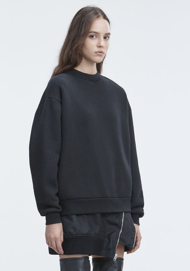 T by ALEXANDER WANG FLEECE SWEATSHIRT 套衫 Adult 12_n_a