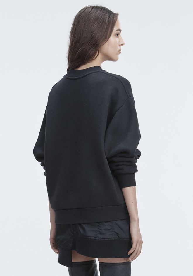 T by ALEXANDER WANG FLEECE SWEATSHIRT 套衫 Adult 12_n_d