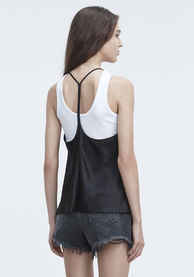 T by ALEXANDER WANG WASH & GO CAMISOLE TOP Adult 12_n_d