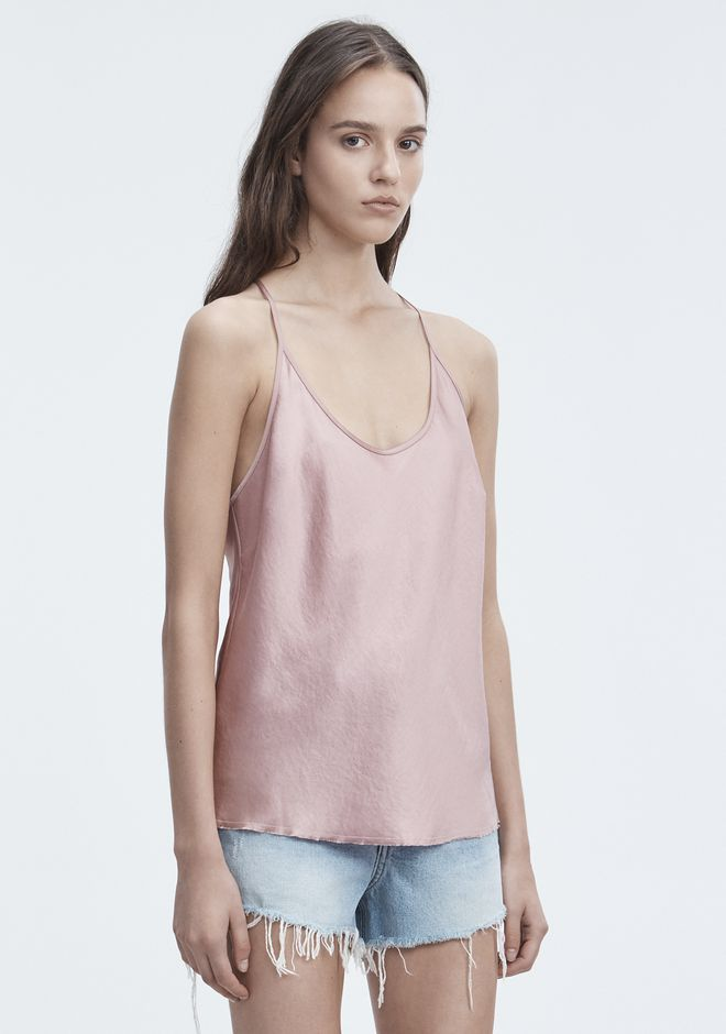 T by ALEXANDER WANG WASH & GO CAMISOLE TOP Adult 12_n_a