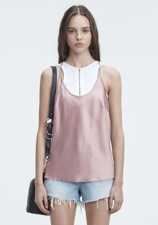 T by ALEXANDER WANG WASH & GO CAMISOLE TOP Adult 12_n_e