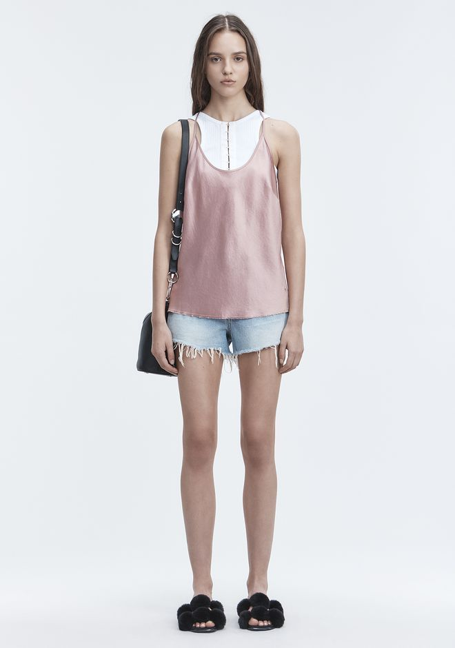 T by ALEXANDER WANG WASH & GO CAMISOLE TOP Adult 12_n_f