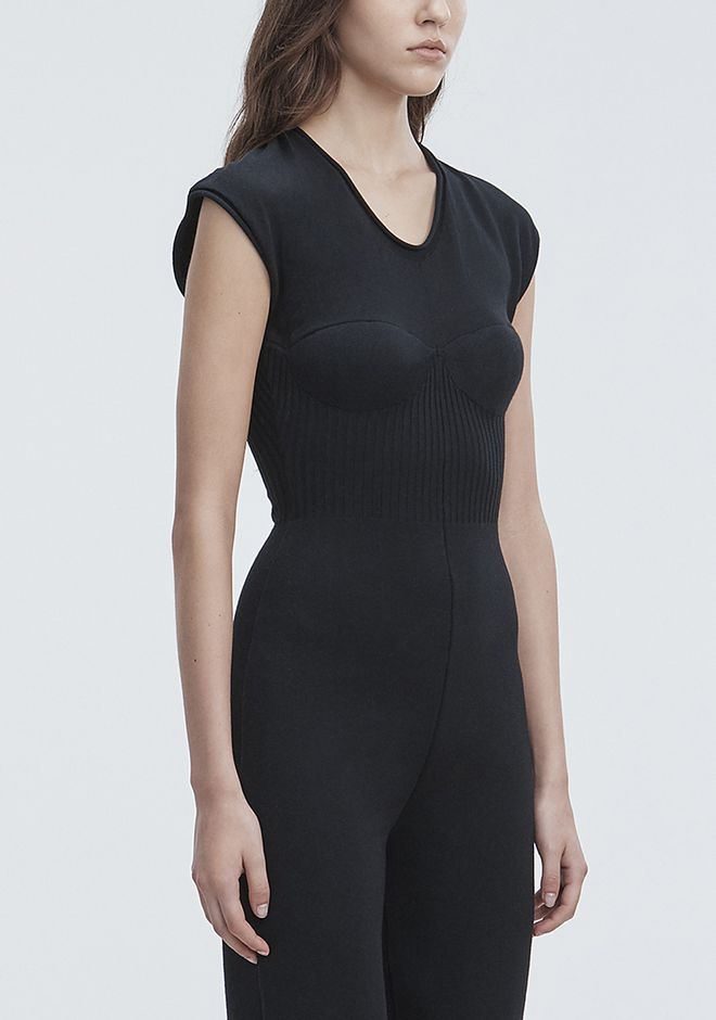 ALEXANDER WANG SLEEVELESS CATSUIT 长款连衣裙 Adult 12_n_a