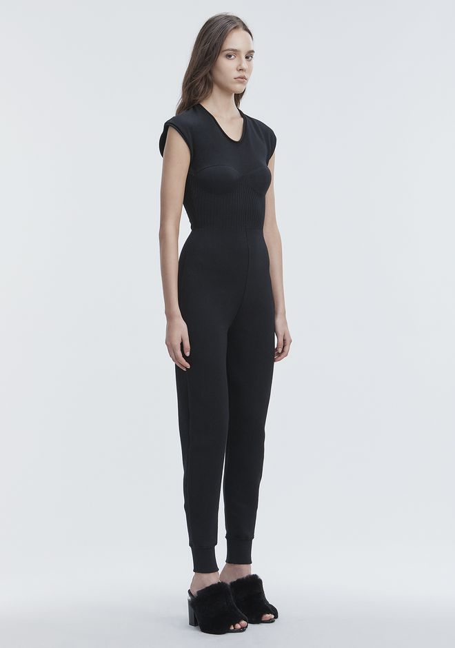 ALEXANDER WANG SLEEVELESS CATSUIT 长款连衣裙 Adult 12_n_d