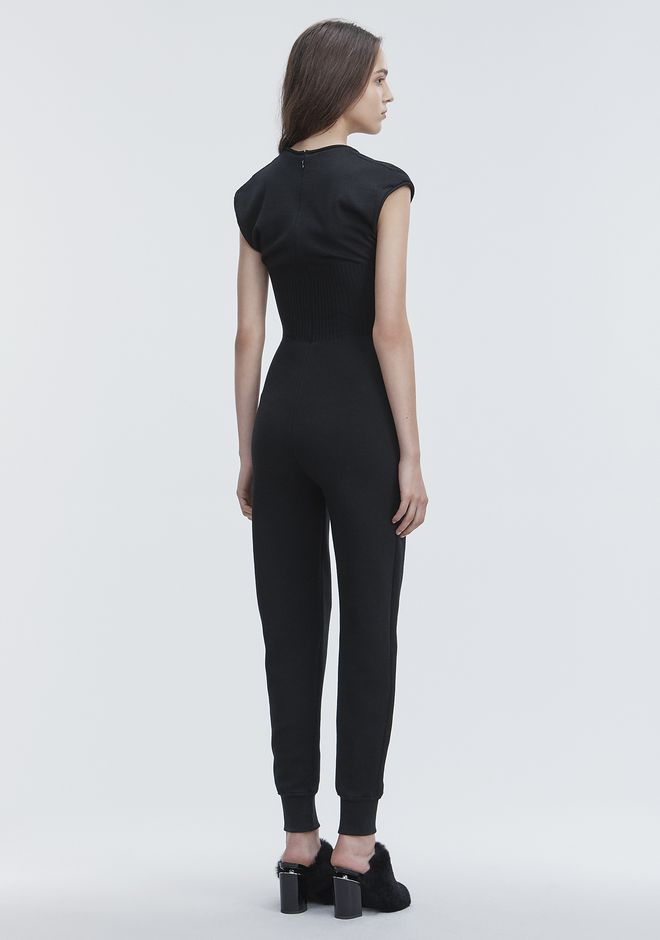 ALEXANDER WANG SLEEVELESS CATSUIT Long dress Adult 12_n_e