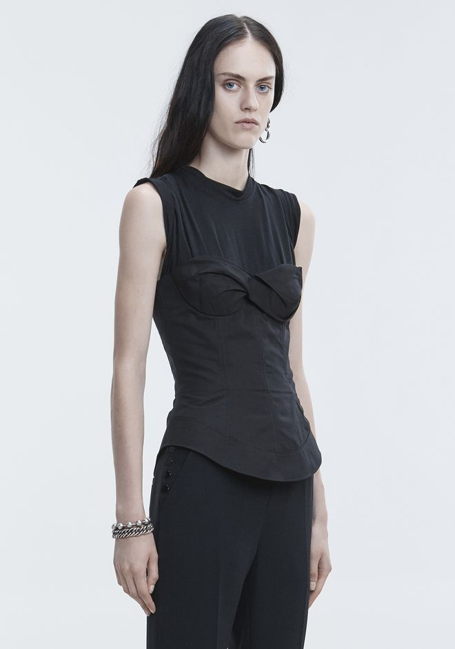 ALEXANDER WANG TROMPE L'OEIL SHIRT  TOP Adult 12_n_a